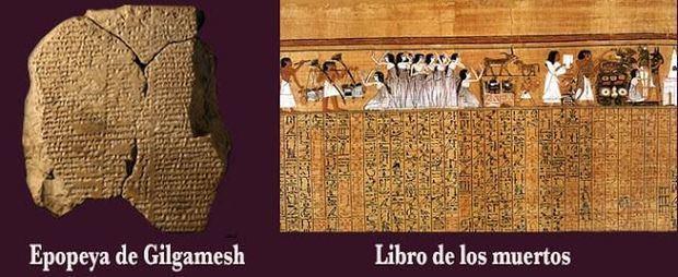 Epopeya y libro de los muertos.