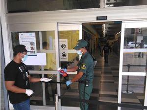 Higienización en la entrega de las instalaciones de compañías de seguridad.