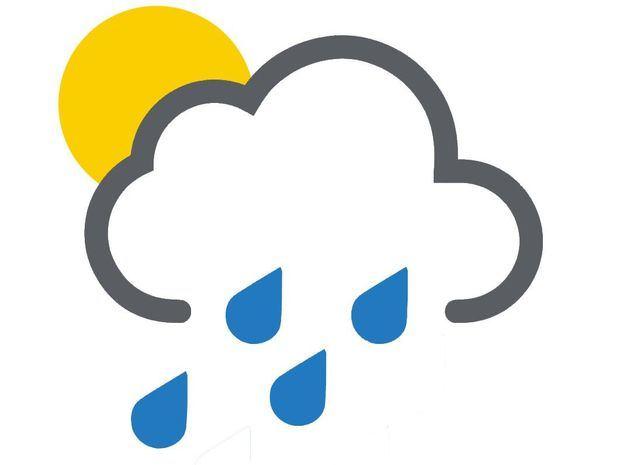 Nublados con lluvias débiles por incidencia de sistema frontal