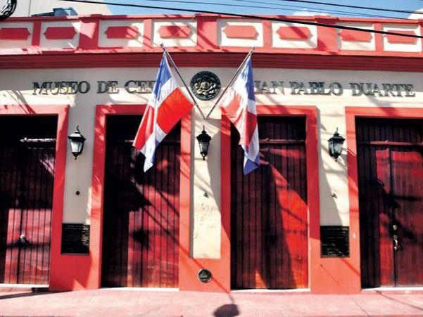 Fachada de la Casa y Museo de Duarte, sede del Instituto Duartiano.