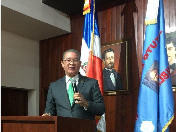 Wilson Gómez Ramírez, presidente del Instituto Duartiano.