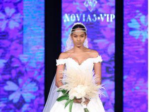 Los diseños de Allure Bridals dieron apertura a los desfiles del RD Bridal Week 2020.