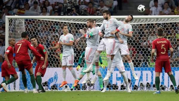 Rusia 2018: España y Portugal empatan a 3 goles