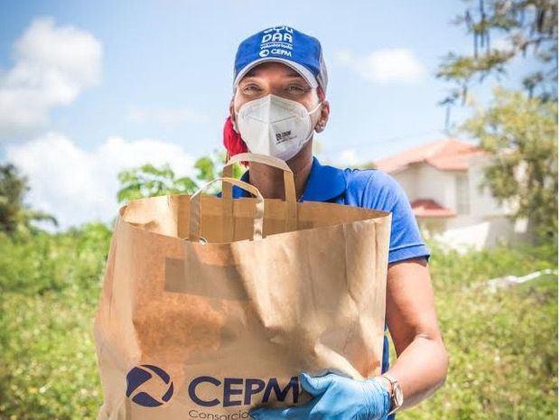 CEPM y CEB realizan donaciones de alimentos, semanalmente, durante el periodo de emergencia por el Coronavirus.