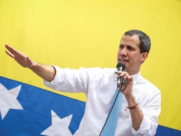 En la imagen el líder opositor venezolano Juan Guaidó.