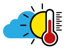 Temperaturas calurosas y escasas lluvias
