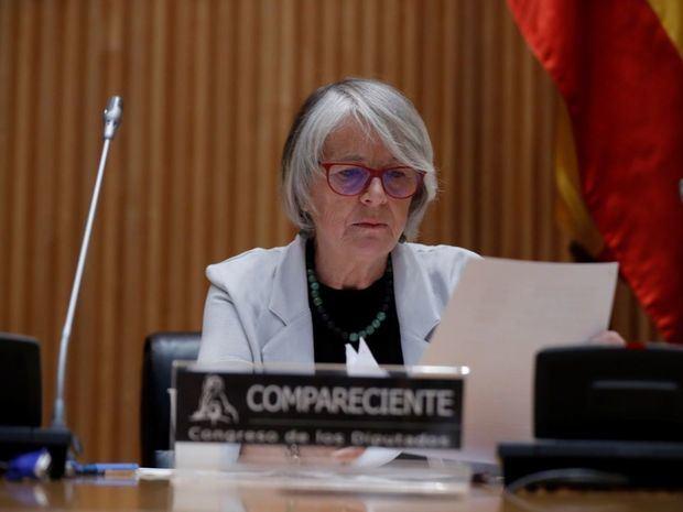 Candidata propuesta por el Gobierno español para presidir la Agencia Efe, la periodista Gabriela Cañas