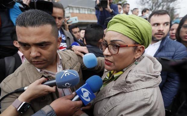 En la imagen, Judith Simanca Herrera, conocida por el alias 'Victoria Sandino'.