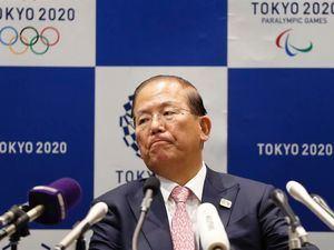 El director ejecutivo del comité organizador de Tokio 2020, Toshiro Muto, en una rueda de prensa.