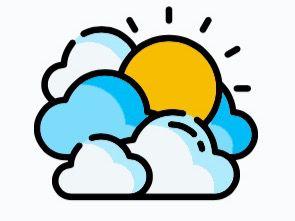 Buen tiempo sobre gran parte del país… algunos chubascos por efectos del viento