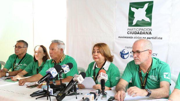 Integrantes de Participación Ciudadana.