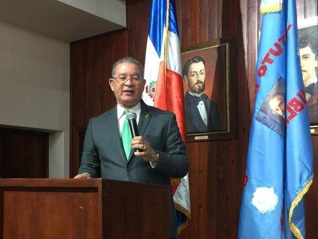 El presidente del Instituto Duartiano, doctor Wilson Gómez Ramírez.