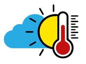 Temperatura calurosa… vaguada provocará aguaceros y tormentas