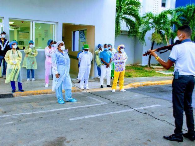 Concierto de cámara para pacientes y personal médico del Hospital Dr. Antonio Musa