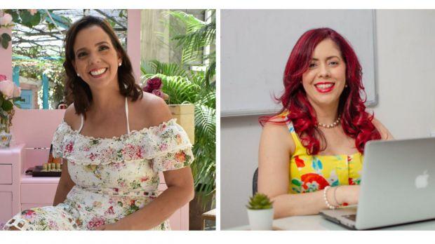 Alby Crespo y Elaine Hernandez.