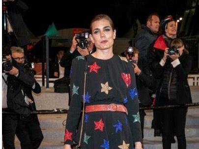 Carlota Casiraghi en a su llegada al festival de Cannes en 2019.