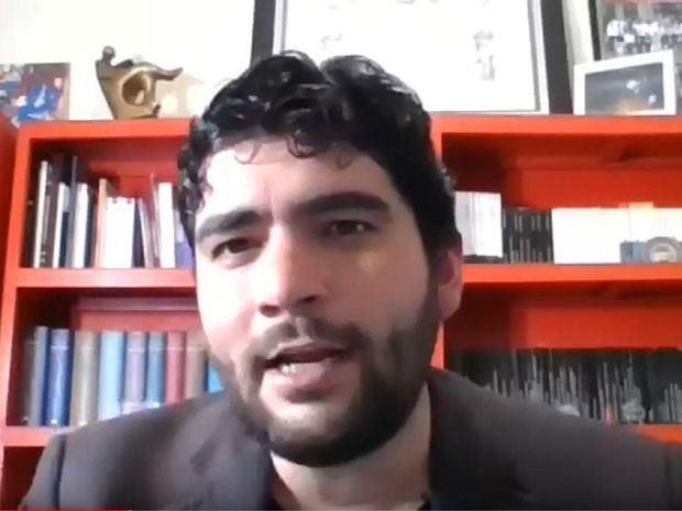 Escritor Roberto Kattán.
