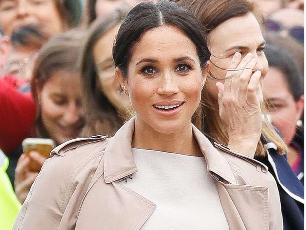 La duquesa de Sussex, Meghan Markle.