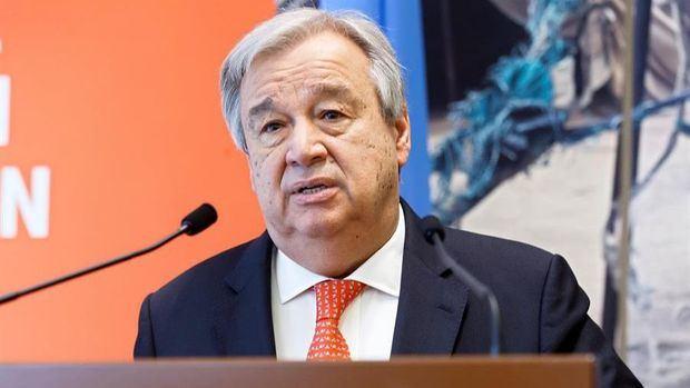 En la imagen un registro del secretario general de las Naciones Unidas, António Guterres, quien advirtió que un total de 49 millones de personas podrían caer este año en la pobreza extrema debido a la crisis desatada por la pandemia de la COVID-19.