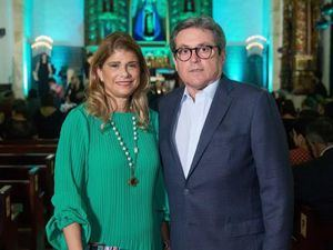 Pilar González de Ariza y Carlos Ariza.