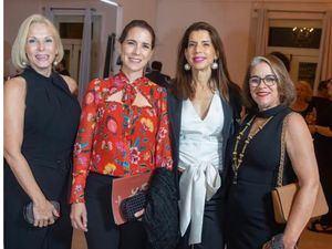 Liz Goyco, Belinda Brugal, Rita Brugal y Mariga Amelia Finke.