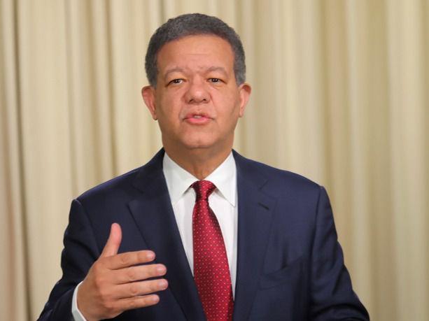 Leonel Fernández, líder y candidato presidencial del partido La Fuerza del Pueblo