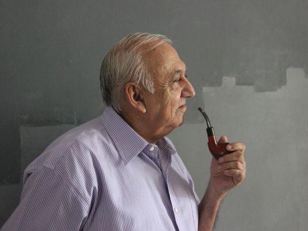 Artista y pintor Jennaro González Pacheco.