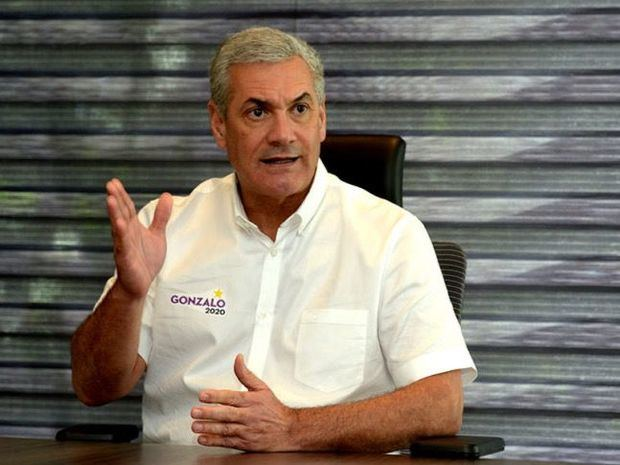 candidato presidencial por el Partido de la Liberación Dominicana, PLD, Gonzalo Castillo.