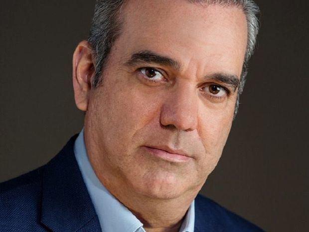 Candidato presidencial del Partido Revolucionario Moderno, PRM, Luis Abinader.