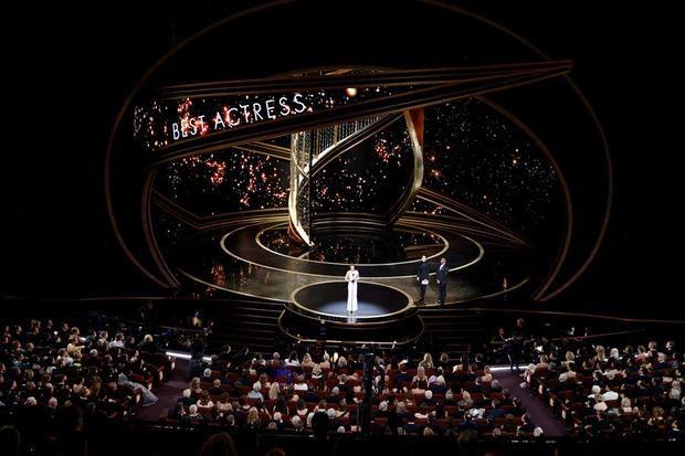 Vista de la ceremonia de los Óscar en el Dolby Theatre en Hollywood, California, EE.UU.