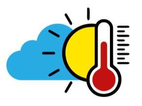 Temperaturas calurosas y cielo opaco por el polvo proveniente del Sahara