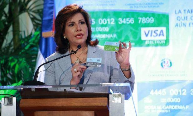 Margarita Cedeño de Fernández, candidata por la vicepresidencia junto a Gonzalo Castillo