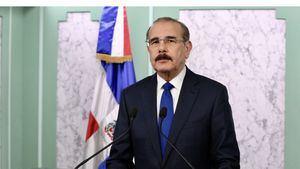 Presidente de la República Danilo Medina durante su discurso al pueblo dominicano, en el cual resaltó los cuatro grandes desafíos simultáneos del país, a los que el Gobierno está dando respuesta.     Enlace noticia: