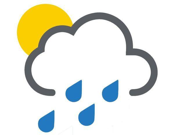 Algunas lluvias matutinas y temperaturas calurosas