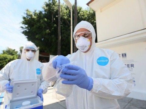 Estados Unidos sumó este domingo 38.576 nuevos contagios de Covid-19.