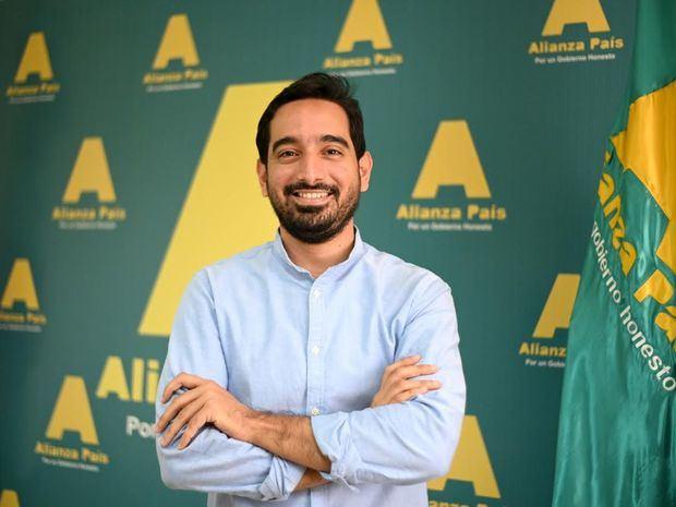 Candidato a diputado José Horacio Rodríguez.