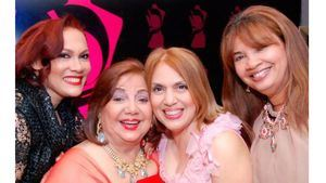 Marisol Henríquez, Mercy Jáquez,Vicky Jáquez y Ana Isabel Ulloa.