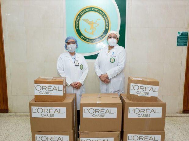 """L'Oréal Caribe y sus socios se unen en Programa de Solidaridad: """"L'Oréal Gives Back"""