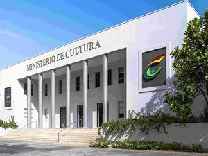 Fachada del Ministerio de Cultura.