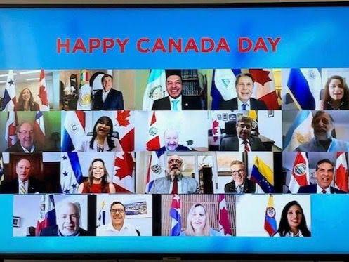 Embajadas latinoamericanas realizan concierto virtual en Día de Canadá