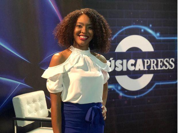 La comunicadora Milian Reyes Solano, productora y conductora de MúsicaPress.