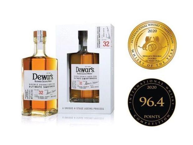 Doble victoria para Dewar's en la Competencia Internacional de Whisky 2020