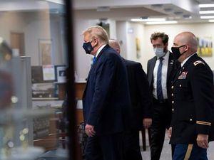 El presidente de EE.UU., Donald Trump, tenía previsto reunirse con el personal sanitario y militares que están recibiendo tratamiento en el hospital militar Walter Reed.