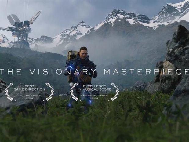 Fotogramas del videojuego 'Death Stranding' cedidas por Nvidia y Kojima Productions.
