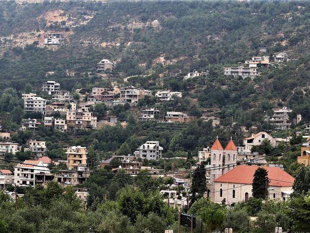 Vista de la ciudad de Baskinta.