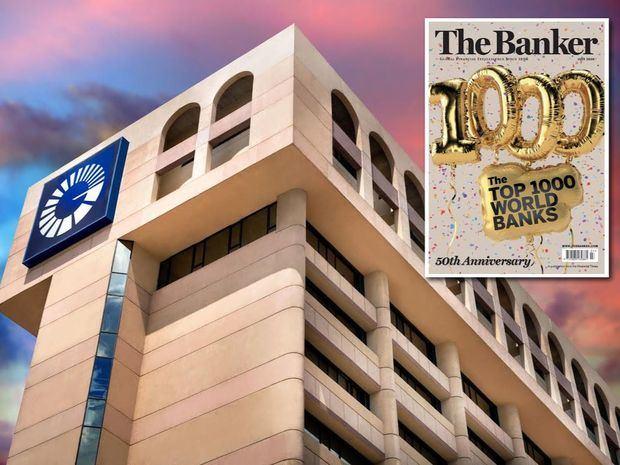 Top 1000 banks Banco Popular Dominicano.