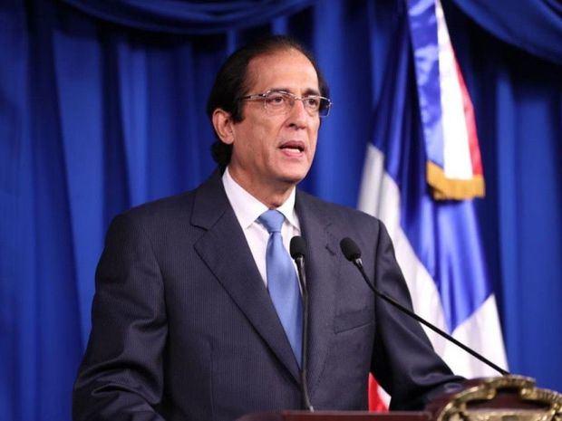 Ministro de la Presidencia, Gustavo Montalvo.
