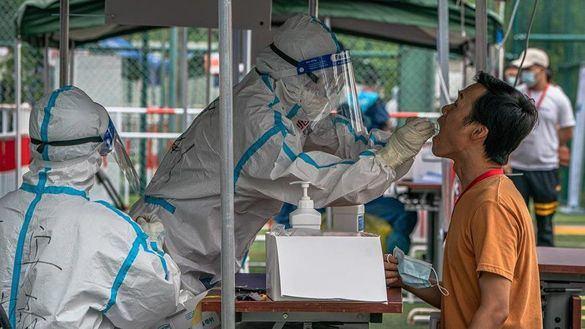Pekín registra 7 de los 12 nuevos contagios de coronavirus en China.