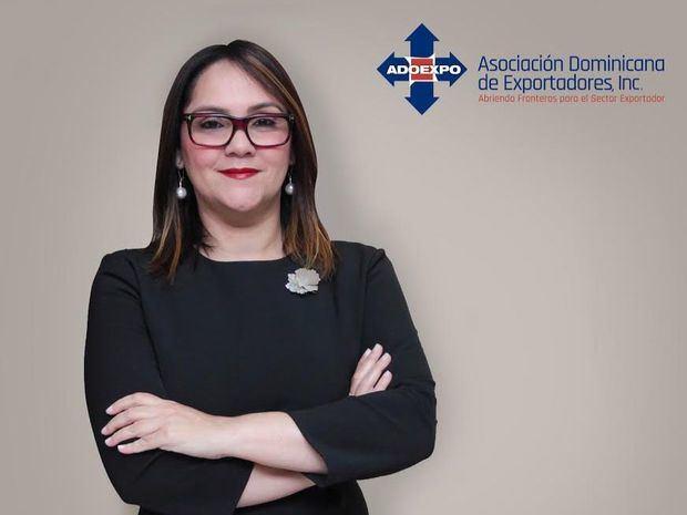 Elizabeth Mena, nueva presidenta de ADOEXPO.