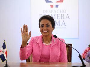 Foto de archivo de cumbre virtual celebrada en agosto de 2019 con primeras damas de 12 países de America Latina..